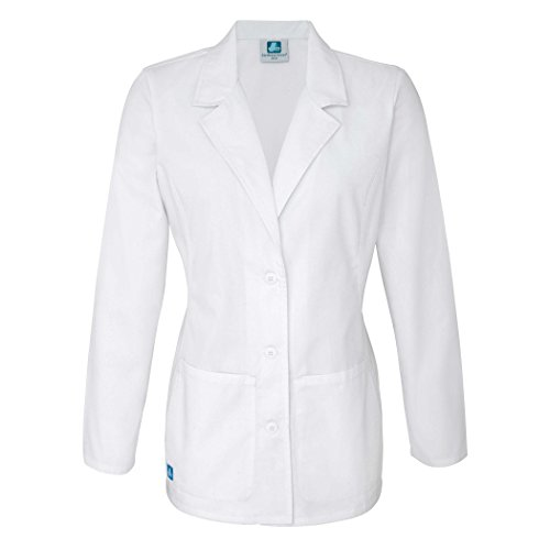 Adar Universal Lab Coats for Women - Tailored 28' Consultation Lab Coat - 2814 - White - S