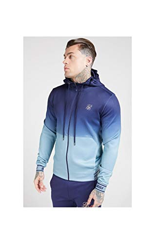 SIKSILK Agility Zip Through Hoodie (L)