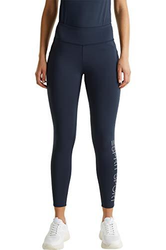 ESPRIT Sports Damen Tights Edry 7/8 Trainingshose, 401/NAVY 2, L