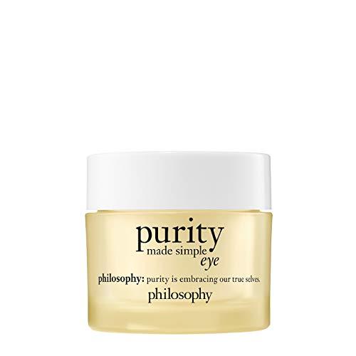 philosophy purity eye cream 15ml | eye cream for dark circles | eye cream with vitamin c & caffeine