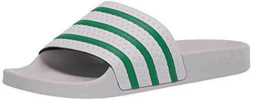 Adidas Originals Adilette - Chanclas para Hombre, Color Blanco y Azul, Color Gris, Talla 40 EU