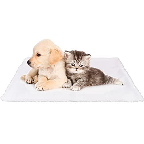 OFNMY Coperta Autoriscaldante per Gatti e Cani, Senza Elettricità e Batterie, Tappetino Riscaldante per Animali Domestici