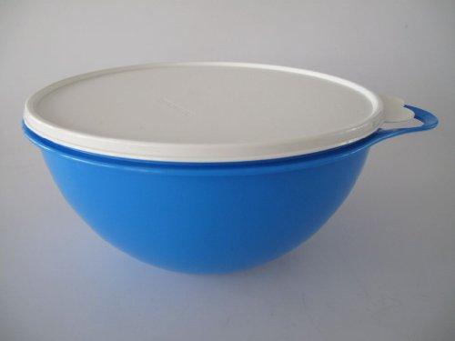 TUPPERWARE Rührschüssel Maximilian 4,5 L blau B06 Maxima Jumboschüssel Salatbar 8756