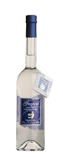 Distilleria Jannamico Grappa Monovitigno Chardonnay - Italienischer premium weicher sortenreiner Chardonnay-Grappa. Grappa (1 x 0.7 l)