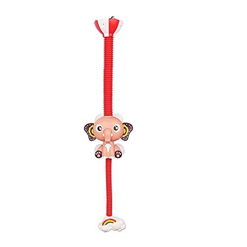 Shuliang Bonito juguete de baño con aspersor de elefante, rociador eléctrico automático de agua, animales lindos, juguetes para niños de 3 4 y 5 años