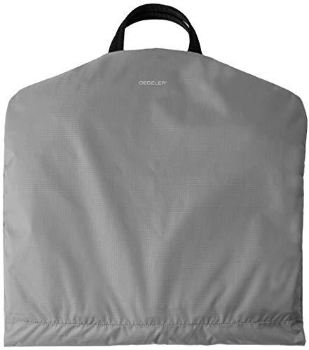DEGELER Kleidersack für mühelose Reisen und Geschäftsreisen, mit einzigartigem Titan-Kleiderbügel für Damen und Herren, Silbergrau (Grau) - DL5