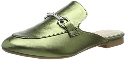 Marco Tozzi 2-2-27300-22, Mules para Mujer, Verde (Green Metallic 750), 37 EU