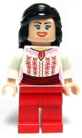 LEGO Indiana Jones - Minifigur Marion RAVENWOOD - seltene Variante mit Cairo Outfit aus Set 7195