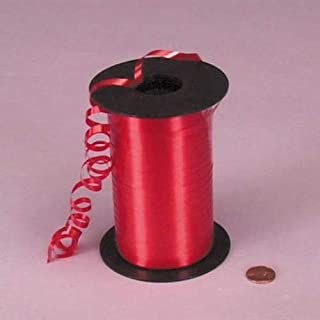 "Red Curling Ribbon, 3/16"" X 500Yd"