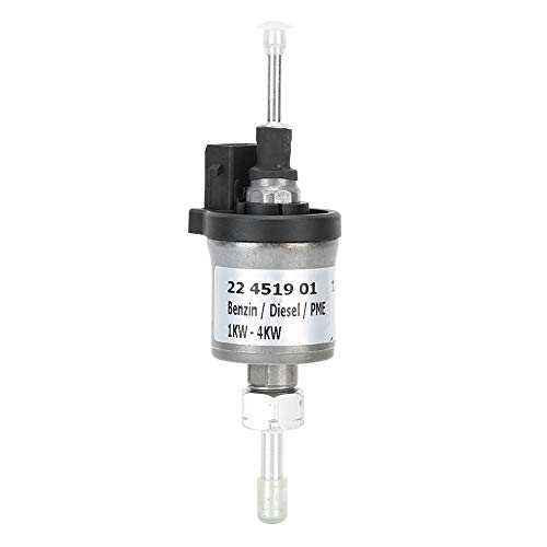 Qiilu 12V Kraftstoffdosierpumpe Dieselheizung Passend für Eberspacher Airtronic D2/D4 12V 22451901