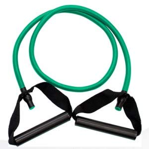 Balego Resistance Tubing with Handles, Green, Medium