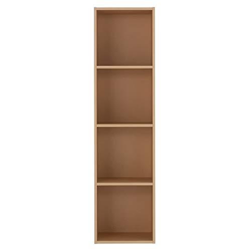 無印良品 パルプボードボックス・タテヨコA4サイズ・4段・ベージュ 幅37.5×奥行29×高さ144cm 18511341