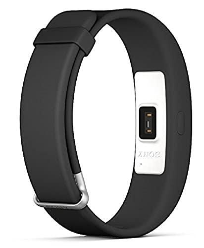Pulsera de ejercicios Fitnesstracker Fitness para Sony Smart Band 2 SWR12 - Negro