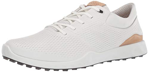 ECCO womens S-lite Golf Shoe, White Yak Leather, 6-6.5 US