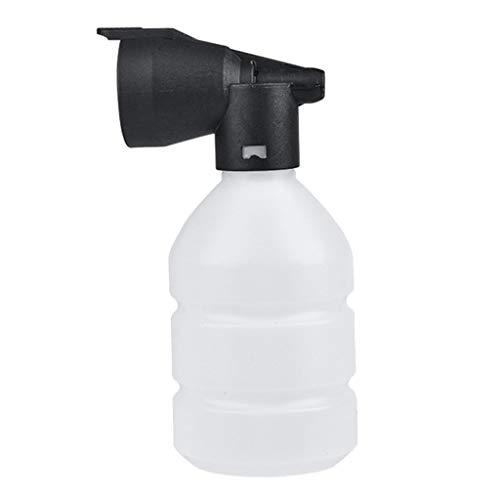Seifenschaum Auto-Wascher Flasche 1 l und Adapter f/ür Au/ßengewinde Schneeschaum-Lanze mit Verstellbarer Schaumstoff-D/üse Spr/üher Seifenspender