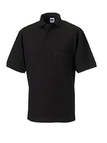 Russell Z011 Workwear-Poloshirt, Farbe:Black;Größen:4XL