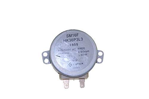 MOTEUR PLATEAU TOURNANT SM16F HK36P3L3 POUR MICRO ONDES ROSIERES - 49001501
