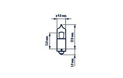 Narva 68163 glã ¼ hlampe, schluãÿleuchte (quantitã ¤ T 10)