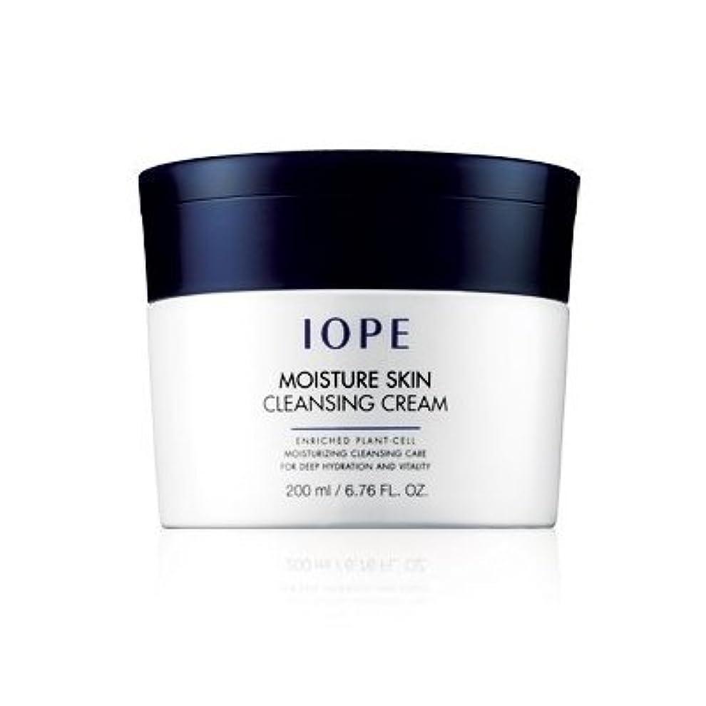 発音効果句読点IOPE Moisture Skin Cleansing Cream (All Skin / Moisturizing / 200ml)