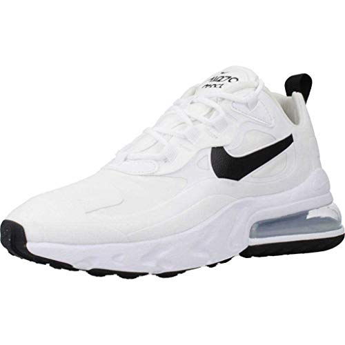 Nike Damen W AIR MAX 270 React Laufschuh, Multicolore White Black MTLC Silver, 40.5 EU