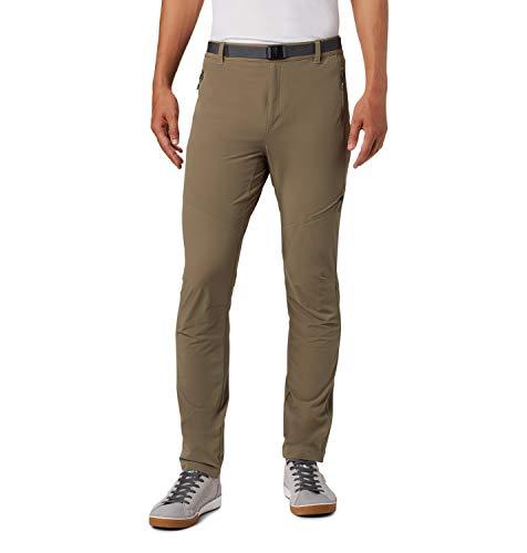 Columbia Maxtrail Regular 999 Pantalónes de Senderismo, Hombre, Verde (Sage), L/R