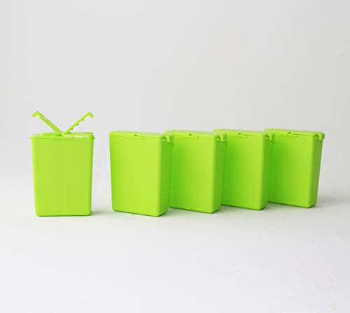 Tupperware to Go 5X Würzling 25ml grün C72 Salzstreuer Pfeffer/Salz Streuer + Hängelöffel