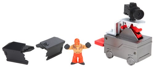 WWE Rumblers – Slam Cam – Rey Mysterio – Figurine 5cm + Caméra-Lanceur (Import Royaume-Uni)