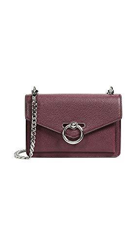 Rebecca Minkoff Women's Jean Crossbody Bag, Bordeaux, Red, One Size