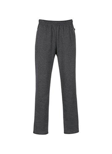 Trigema Herren Freizeithose Sweat-Qualität Pantalon, Gris (Grau-Melange 109), XL Homme