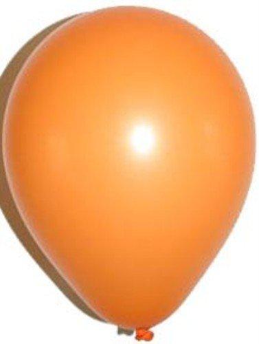 Valeur Solide Couleur ballons en latex | 10 Standard ballons orange [Jouet]