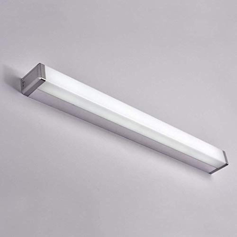 Spiegel Lampen LED-Spiegel Scheinwerfer, modernen Anti-fog Rost Spiegelleuchte Bad Badezimmer Spiegelschrank Make-up Lampen Badezimmer Lampen (Farbe  Weies Licht-7w 45 cm)