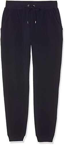 Amazon-Marke: find. Jogginghose Damen Jersey mit schmal zulaufendem Bein, Blau (Navy), 40, Label: L