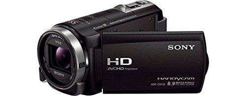Sony HDR-CX410VE HD Flash Camcorder (1920 x 1080 Pixel, G-Optik mit 30-Fach Zoom, Automatikmodus) schwarz