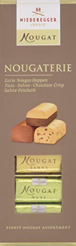 Niederegger Nougaterie 100g, Nougat Variationen zum Probieren (1 x 100 g)