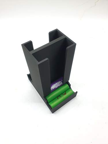 Dispensador de baterías 18650 para 18 baterías, doble