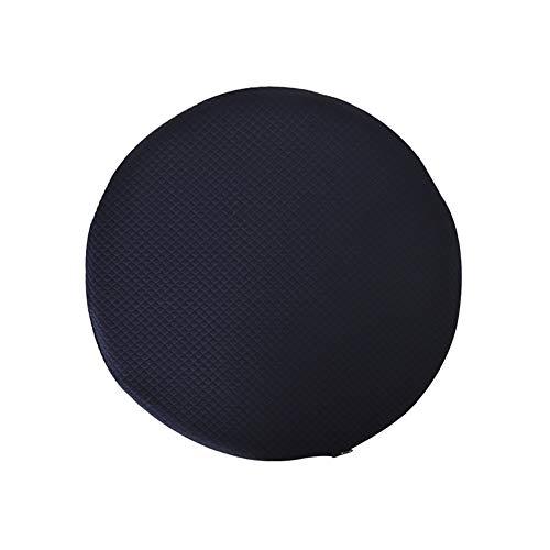ZXY Rond Coussins de Chaise, Solid Color Tatami Coussins d'Assise, Doux et Confort, Polyester Coussins de Chaise pour intérieur et extérieur-A 34x34x3cm(13x13x1inch)