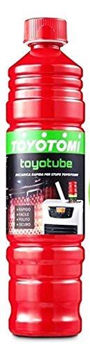 Toyotube - Ricarica Rapida per stufe Toyotomi - 1 bottiglia da 1,4 L