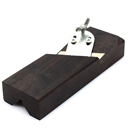 Fasenhobel, Holz Ebenholz Hobel Handwerkzeug, 45 Grad Kantenende Trimmer Schreiner DIY Holzbearbeitungswerkzeug für Kantenabrundung Winkel Finish (150x51mm)