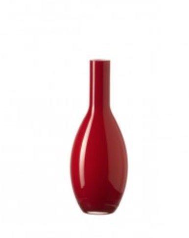Leonardo Beauty Tischvase, Vase, Blumenvase, Glas, 18 cm, rot, 31409