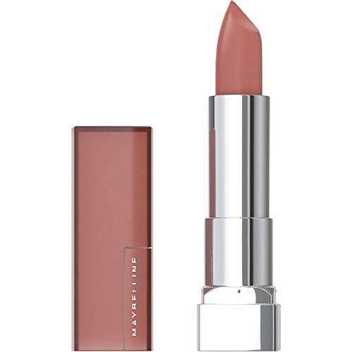 Maybelline New York Color Sensational Creamy Matte Lipstick, Daringly Nude, 0.15 Ounce