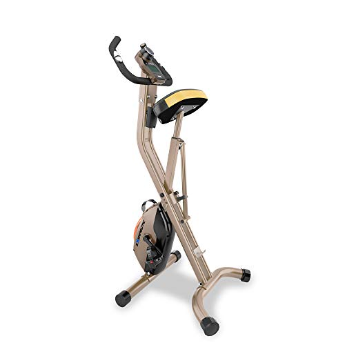Product Image 5: Exerpeutic Gold Heavy Duty Foldable Exercise Bike with 400 lbs Weight Capacity