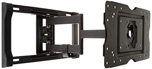 AmazonBasics Heavy-Duty, Full Motion Articulating TV Wall Mount for 32-inch to 80-inch LED, LCD,...