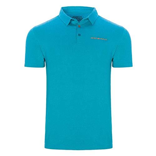 Trangoworld Finu Polo pour Homme XL Bleu Mer