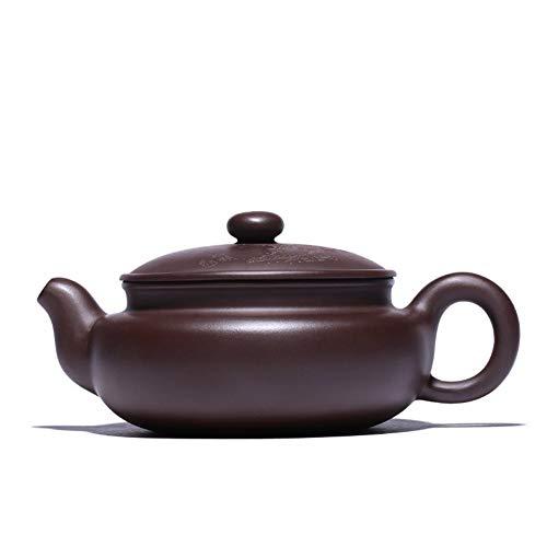 Teapot Tea Pot Tea Tea cup Old Purple Clay Pot Teapot TongLingUSL (Color : Red)