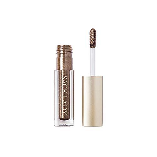 Luckhome  Glitzer Flüssig Lidschatten Make-up Stift, Metallic Shiny Smoky Eyes Lidschatten...