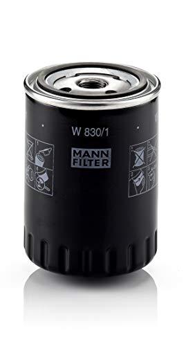 Original MANN-FILTER Ölfilter W 830/1 – Für PKW und Nutzfahrzeuge