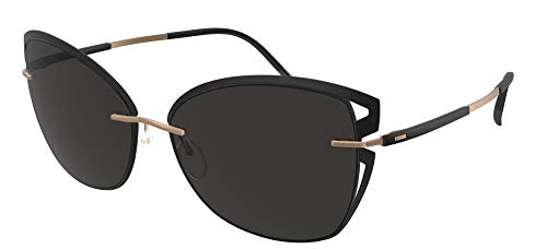 Silhouette Gafas de Sol ACCENT SHADED 8179 Black/Grey talla única mujer