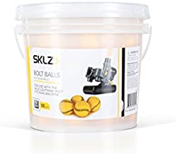 SKLZ Bolt Balls for Lightning Bolt Pitching Machine, 50 Pack