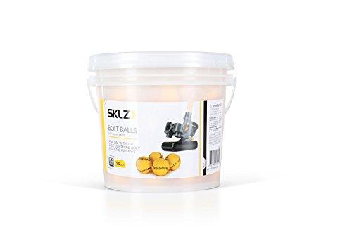 SKLZ Bolt Balls for Lightning Bolt Pitching Machine, 50 Pack