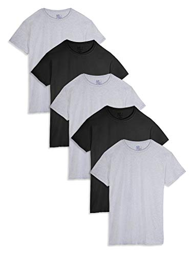 5-Pack Fruit of the Loom Men's Pocket T-Shirts (various colors, S,M,L,XL) $11